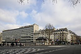 Avenue georges bernanos wikip dia - Boulevard du port royal paris ...