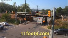 File:Boxtruck carnage on Friday the 13th at the 11foot8 bridge.webm