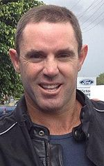 Brad 'Freddie' Fittler at the Canungra Hotel in March 2013.jpg