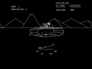 First-person shooter - Before the popularity of first-person shooters, the first-person viewpoint was used in vehicle simulation games such as ''Battlezone''.
