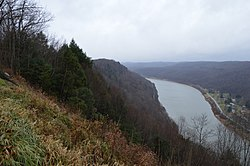 Hillside over the Allegheny River