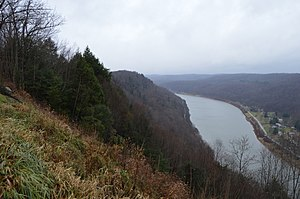 Brady Township, Clarion County, Pennsylvania - Hillside over the Allegheny River