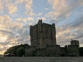 Bragança castle at sunset (5727191726).jpg