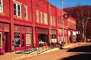 Bramwell, West Virginia - Main Street in Bramwell