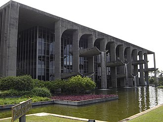 Law of Brazil - Palace of Justice in Brasília
