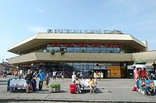 Bratislava hlavná stanica railway station