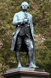 Lessing-Denkmal in Braunschweig (Quelle: Wikimedia)