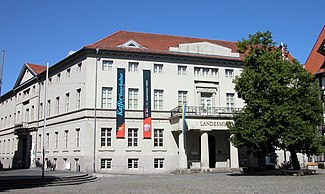 The restored Vieweg-Haus, now home to the Braunschweigische Landesmuseum (Source: Wikimedia)