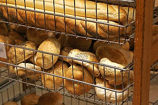 Bread roll small, usually round or oblong individual loaf of bread served as a meal accompaniment