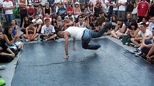 Break Dance Jam in Nuevos Ministerios, Madrid