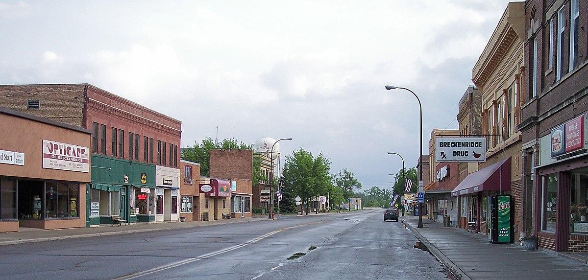 Breckenridge Minnesota Wikipedia