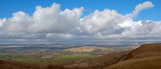 Brecon Beacons - The Brecon Beacons, seen from the south
