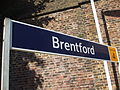 Brentford station signage 2012.JPG