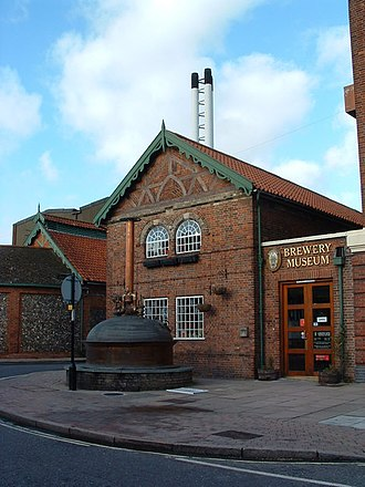 Greene King - Greene King's Brewery Museum, shown in 2006
