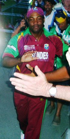 Brian Lara lap of honour (cropped).jpg