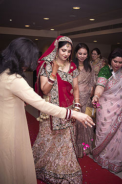 Bride entering the hall - Indian Hindu Wedding.jpg
