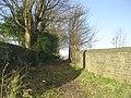 Bridleway - Westfield Lane, Idle - geograph.org.uk - 1059708.jpg