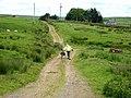 Bridleway near Lees Hall - geograph.org.uk - 846684.jpg