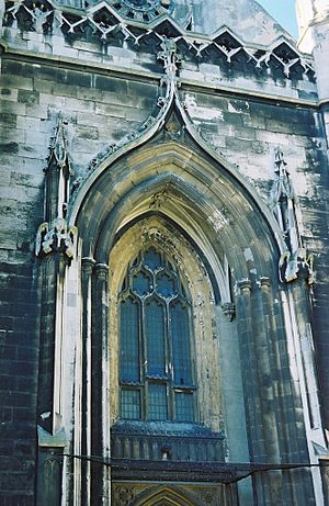 St Peter's Church, Brighton - Image: Brighton St Peter Tower Detail 01