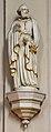 Brilon, St. Nikolai Kirche, Heiliger mit Buch und Schlüssel.JPG