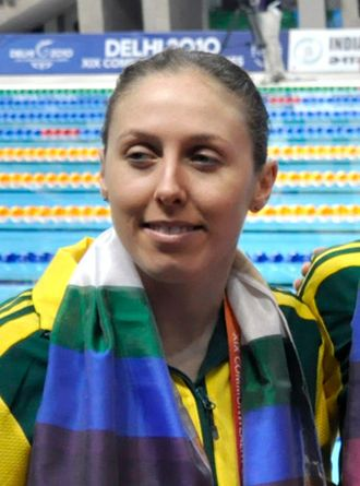 Briony Cole - Cole at the 2010 Commonwealth Games