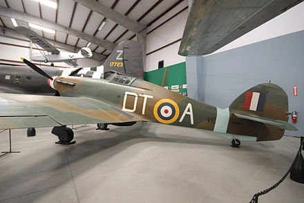 Hawker Hurricane at the Pima Air & Space Museum British Hawker Hurricane - Pima Air & Space Museum.JPG