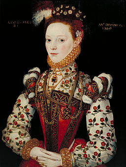 British School 16th century - A Young Lady Aged 21, Possibly Helena Snakenborg - Google Art Project