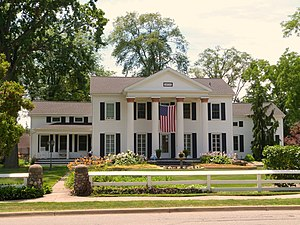 National Register of Historic Places listings in Saginaw County, Michigan - Image: Brockway House Saginaw Michigan
