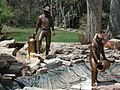 Bronze sculpture of fishery workers.jpg