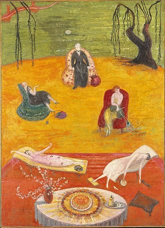 Florine Stettheimer - Heat, c.1919, the Brooklyn Museum