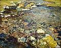 "Brooklyn Museum - Val d'Aosta (A Stream over Rocks; Stream in Val d'Aosta"" - John Singer Sargent - overall.jpg"