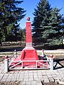 Brotherhood grave of fighters for Soviet power Izium 2.jpg