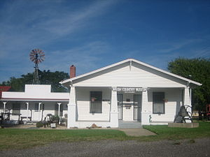 Cotulla, Texas - The Brush Country Museum in Cotulla preserves regional history.