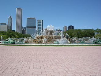 The Amazing Race 6 - Chicago's Buckingham Fountain was the starting line of the race.