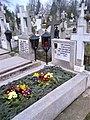 Bucuresti, Romania. Cimitirul Bellu Catolic. Mormantul Compozitorului Dan Iagnov. 15 Martie 2018.jpg