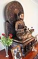 Buddha Statue in Dhammagiri Dhammahall.jpg