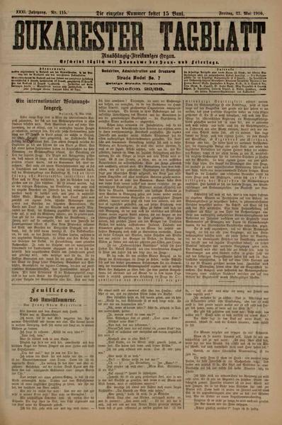 File:Bukarester Tagblatt 1910-05-27, nr. 115.pdf