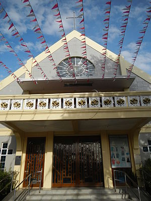 Malanday - Hearts of Jesus and Mary Parish Church of Malanday.