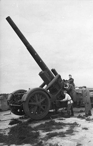 21 cm Mörser 18 - A Mrs 18 deployed in Norwegian Lappland