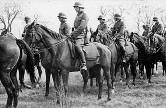 SS Cavalry Brigade - SS Cavalry Brigade of the Waffen-SS, September 1941