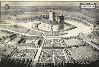 Lowland castle - The moat at Calvörde Castle was linked to the River Ohre via a canal system