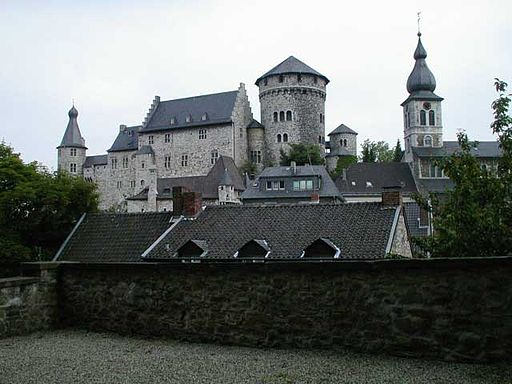 Burg und St. Lucia in Stolberg (Rhld.)