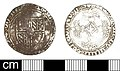 Burgundian Medieval coin, double patard of Charles the Bold (FindID 715153).jpg