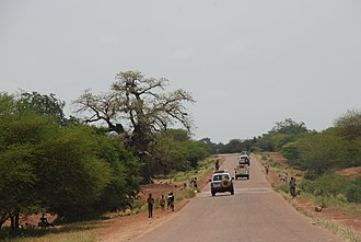 Gourma Province - Scenery south of Fada N'gourma on the road to Benin