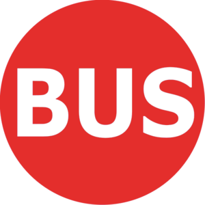 Rathenauplatz (Nuremberg U-Bahn) - Image: Bus Logo Nürnberg