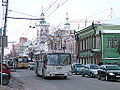 Bus in Tyumen traffic.jpg