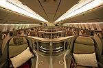 Business class cabin of China Eastern's B77W.jpg