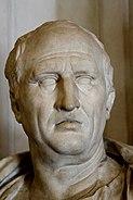Bust of Cicero (1st-cent. BC) - Palazzo Nuovo - Musei Capitolini - Rome 2016