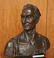 Busta Paľa Bielika autor Ladislav Snopek Epoxid 1987 55 cm.jpg