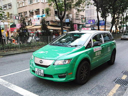 Byd e6 new territories taxi hong kong